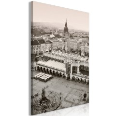 Artgeist Wandbild - Cracow: Cloth Hall (1 Part) Vertical