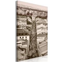 Artgeist Wandbild - Cracow: Florianska Street (1 Part) Vertical