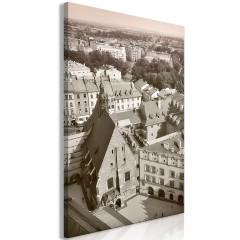 Artgeist Wandbild - Cracow: Old City (1 Part) Vertical