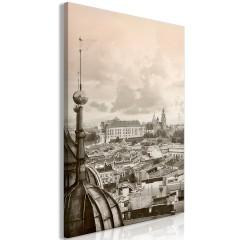 Artgeist Wandbild - Cracow: Royal Castle (1 Part) Vertical