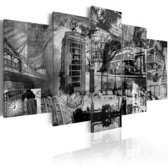 Artgeist Wandbild - Das Wesen von London - 5 Teile