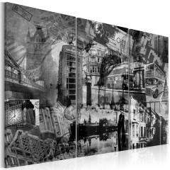 Artgeist Wandbild - Das Wesen von London - Triptychon