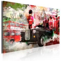 Artgeist Wandbild - Erinnerungen aus London