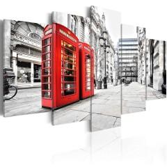 Artgeist Wandbild - Street of London