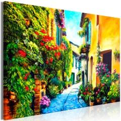 Artgeist Wandbild - Beautiful Street (1 Part) Wide
