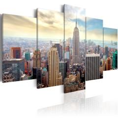 Artgeist Wandbild -  Morning in New York City