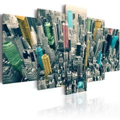 Artgeist Wandbild - Der bunte Alltag in NY