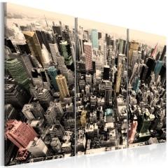 Artgeist Wandbild - Höchste Gebäude von New York