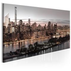 Artgeist Wandbild - Manhattan at Twilight