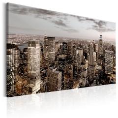 Artgeist Wandbild - New York at Dawn