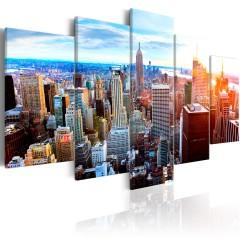 Artgeist Wandbild - New York Sunrise