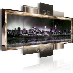 Artgeist Wandbild - New York: Starry night