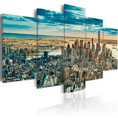 Artgeist Wandbild - NY: Dream City