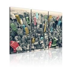 Artgeist Wandbild - NYC bekennt Farbe