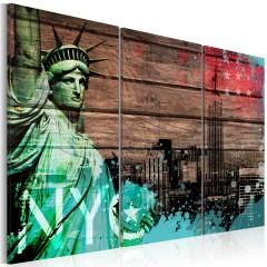 Artgeist Wandbild - NYC collage II