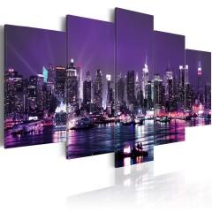 Artgeist Wandbild - Purple Sky