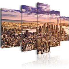 Artgeist Wandbild - Sleeplessness in New York
