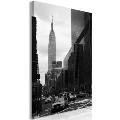 Artgeist Wandbild - Street in New York (1 Part) Vertical