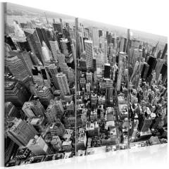 Artgeist Wandbild - Unglaublicher Ausblick auf die Dächer von New York