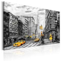 Artgeist Wandbild - Walk in New York