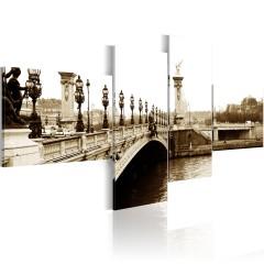 Artgeist Wandbild - Brücke Alexander III. in Paris