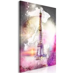 Artgeist Wandbild - Fairytale Paris (1 Part) Vertical