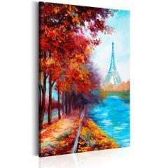 Artgeist Wandbild - Herbst in Paris