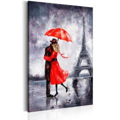 Artgeist Wandbild - Love in Paris