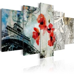 Artgeist Wandbild - Memories of Paris
