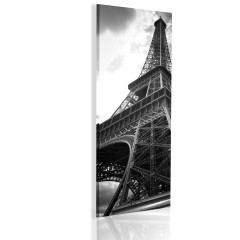 Artgeist Wandbild - Oneiric Paris - black and white