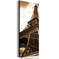 Artgeist Wandbild - Oneiric Paris - sepia