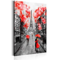 Artgeist Wandbild - Paris: The City of Love
