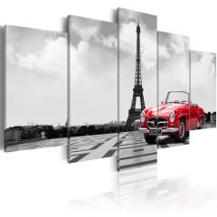 Artgeist Wandbild - Parisian car