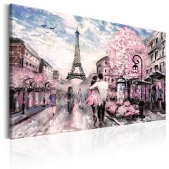 Artgeist Wandbild - Pink Paris