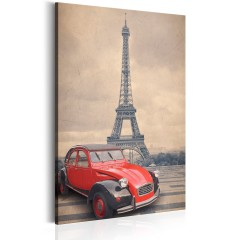 Artgeist Wandbild - Retro Paris
