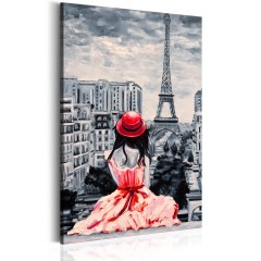 Artgeist Wandbild - Romantic Paris