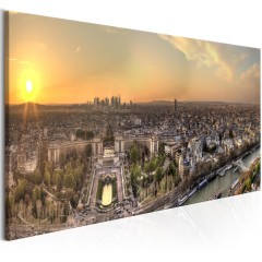 Artgeist Wandbild - View from Eiffel Tower (1 Part) Narrow