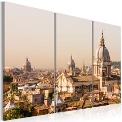 Artgeist Wandbild - Über den Dächern der Ewigen Stadt