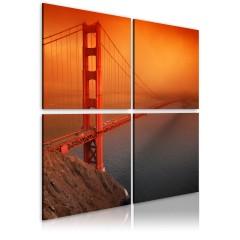 Artgeist Wandbild - Golden Gate Brücke: San Francisco