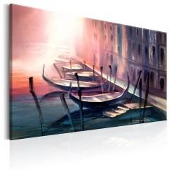 Artgeist Wandbild - Early Morning in Venice