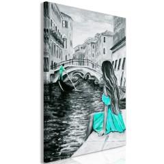 Artgeist Wandbild - Far Dreams (1 Part) Vertical Blue
