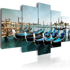 Artgeist Wandbild - Kanal in Venedig