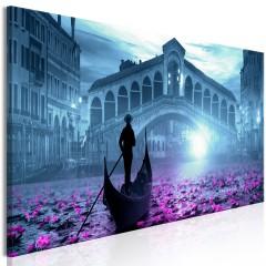Artgeist Wandbild - Magic Venice (1 Part) Narrow Blue