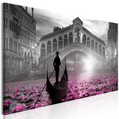 Artgeist Wandbild - Magic Venice (1 Part) Narrow Grey