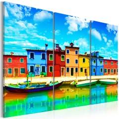 Artgeist Wandbild - Sunny morning in Venice