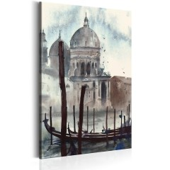 Artgeist Wandbild - Watercolour Venice