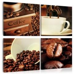 Artgeist Wandbild - Coffee Tasting