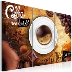 Artgeist Wandbild - Cup of coffee