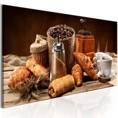 Artgeist Wandbild - Erträumtes Frühstück