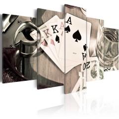 Artgeist Wandbild - Poker night